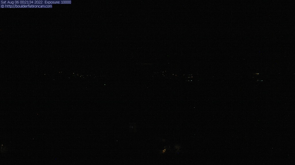 The Flatirons from Bear Creek Elementary